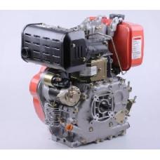 Двигатель 186FE - (под шлицы Ø25mm) (9 л.с.) с электростартером