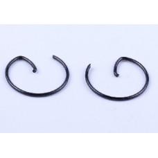 168F - кольца стопорные пальца поршневого (2шт.)