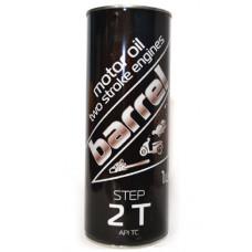 Масло Barrel 2Т полусинтетическое, 1л