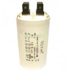 Конденсатор рабочий 12.5 mF СВВ60 450 VAC, клеммы