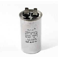 Конденсатор 20 mF CBB65 450VAC, металлический