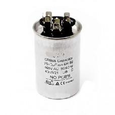 Конденсатор 25+3 mF CBB65 450VAC, металлический