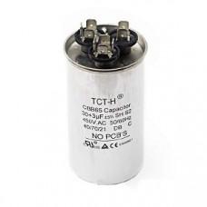 Конденсатор 30+3 mF CBB65 450VAC, металлический