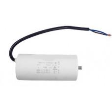 Конденсатор рабочий 100 mF СВВ60 450 VAC, болт+провода