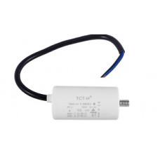 Конденсатор рабочий 10 mF СВВ60 450 VAC, болт+провода