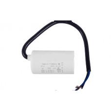 Конденсатор рабочий 10 mF СВВ60 450 VAC, провода