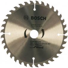 Диск пильный Bosch 160x36x20 по дереву