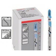 Пилочки для электролобзика Bosch T118B (100шт.)