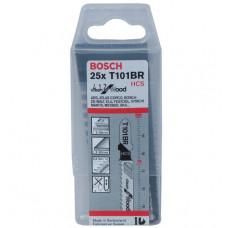 Пилочки для электролобзика Bosch T101BR (25шт.)