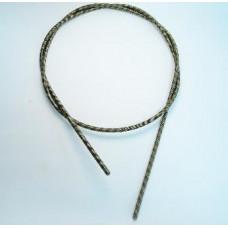 Вал гибкий косы D=6 мм, L=870 мм 4/4 (5*5мм)