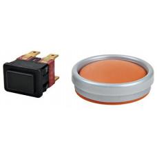 Кнопка пылесоса Philips (Signal Lux, 4 контакта) + защитная резинка - 432200909510