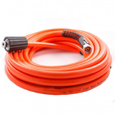 Шланг для мойки высокого давления 8 метров (D=15) красный