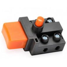 Кнопка-выключатель на пилы Rebir с фиксатором