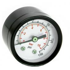 Манометр для компрессора, резьба 1/8, диаметр 40мм