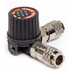 Регулятор давления на компрессор (2 быстросьема)