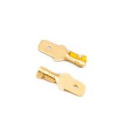 """Клеммы-коннекторы, """"папа"""" 4.8 mm (100 штук )"""