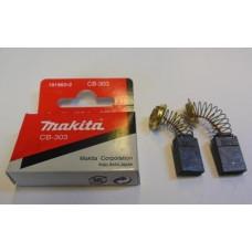 Щетки Makita CB-303 - оригинал (191963-2) 5*11
