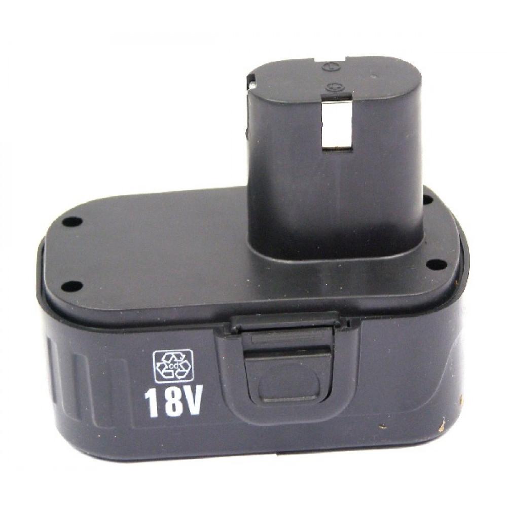 Аккумулятор для шуруповерт 18 v  (прямой) Ni-Cd 3 контакта