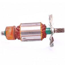 Якорь электропилы цепной PT 2501 Powertec , 49*168 9-з. влево